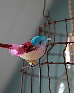 Hängelampe<br>mit Vögel