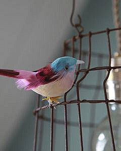 Hanglamp met vogeltjes