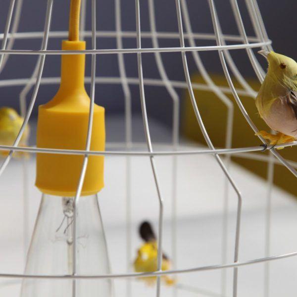 pendelleuchte Vögel Esstisch