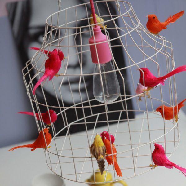Vögelkäfig Pendelleuchten Esstisch
