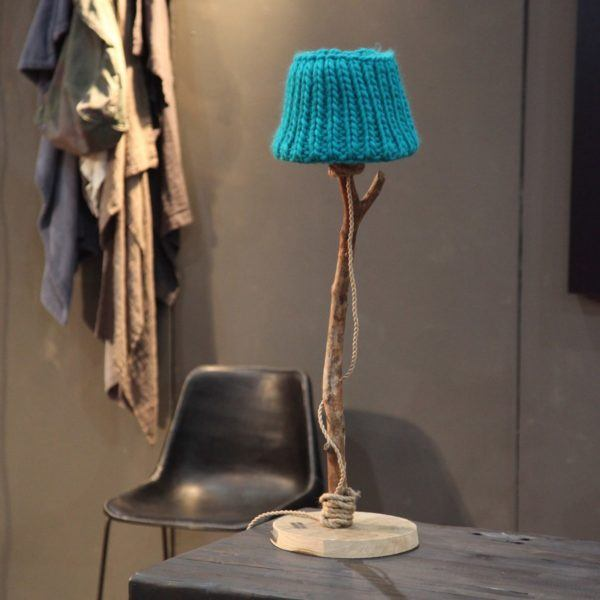 Tischlampe Holz Landhausstil