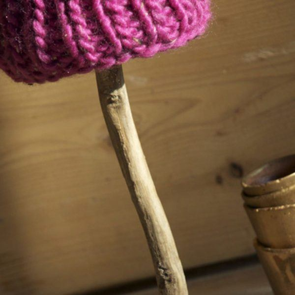 Tischlampe Holz Treibholz