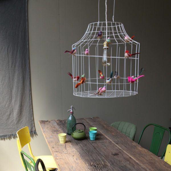 Vogelkäfig Hängeleuchte Esstisch