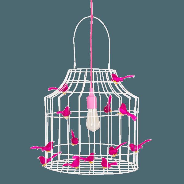 Pendelleuchte Vogelkäfig