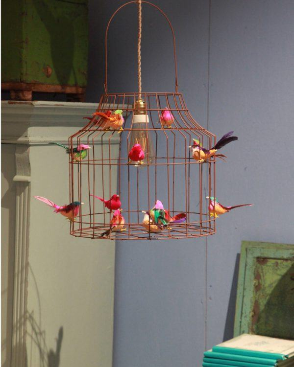 Pendelleuchte Vögel Kinderzimmer frohlich