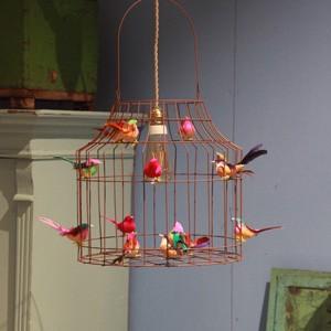 Deckenlampe Kinderzimmer Mädchen Vögel