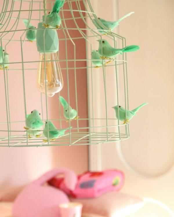 Deckenleuchte Babyzimmer minze farbe