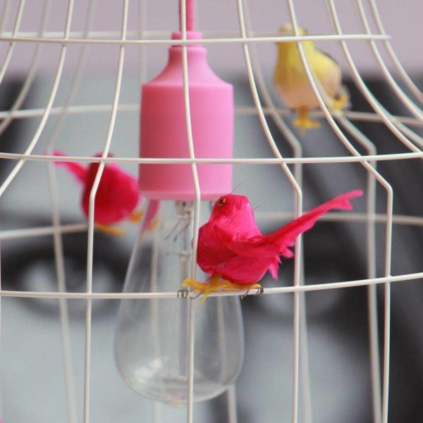 Hängelampe Vögel Esstisch