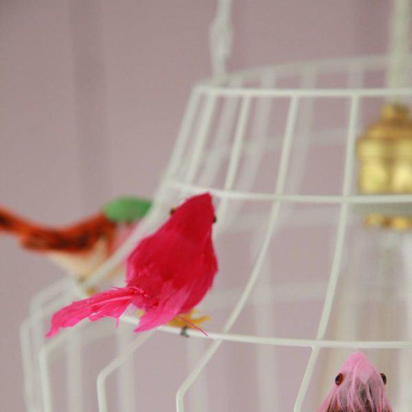 Deckenleuchte Babyzimmer MädchenVögelchen
