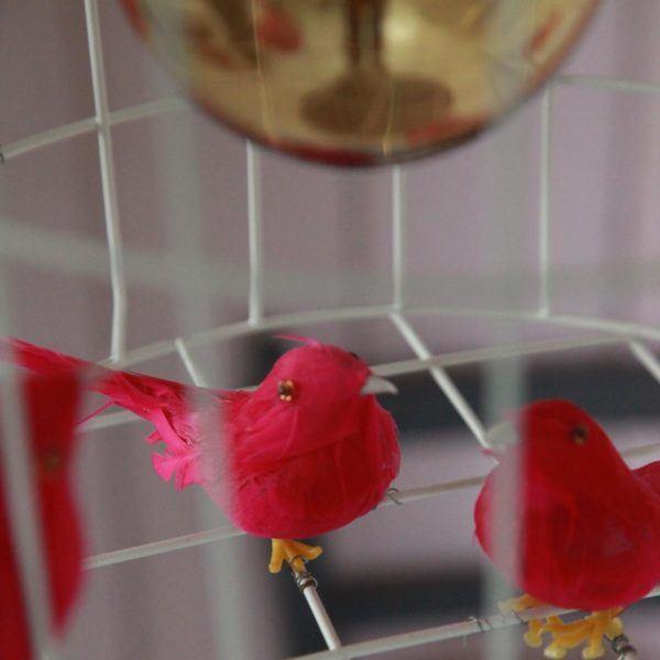 Hängelampe Vögel Mädchenzimmer