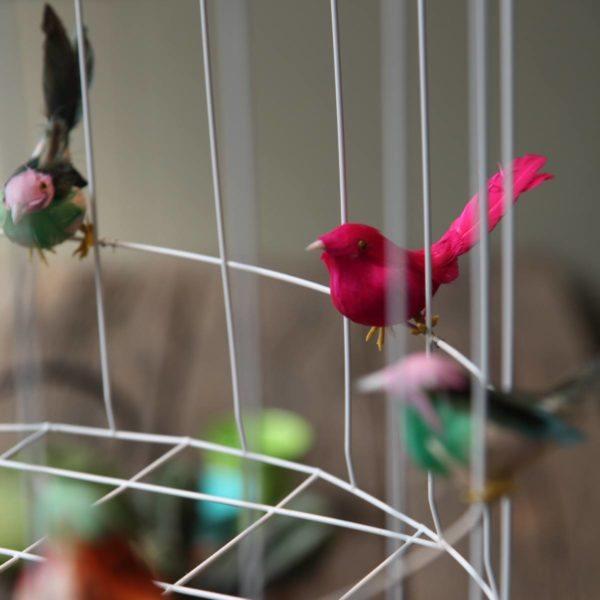 Hängeleuchte Vögel Kinderzimmer