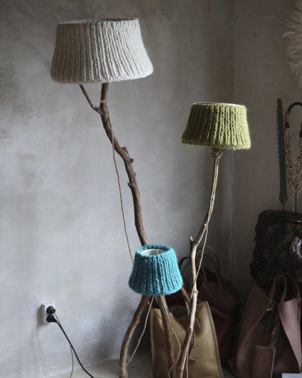 Holzern Stehlampen