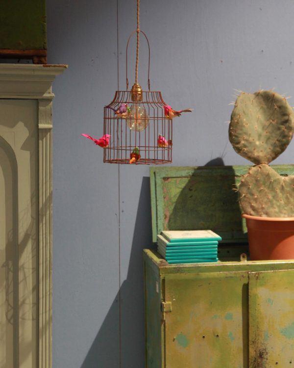 Pendelleuchte Vögel Kinderzimmer Hangelampe