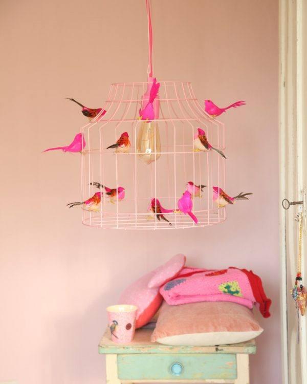 Deckenlampe kinderzimmer rosa Mädchen