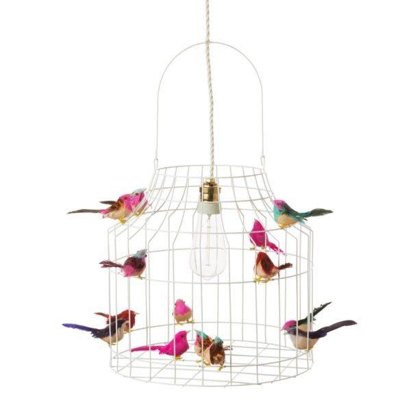 Deckenlampe Kinderzimmer Vögel