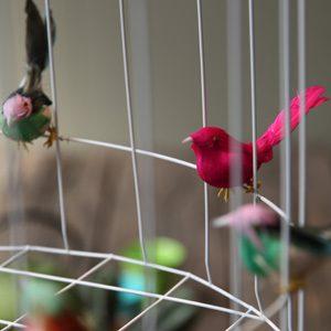 Deckenleuchte Kinderzimmer Vögel