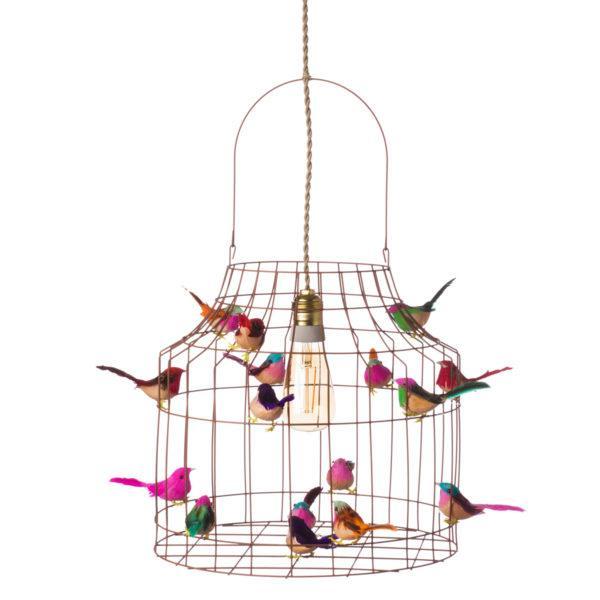 Pendelleuchte Vögel  Kinderzimmer