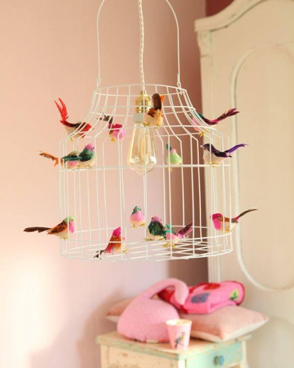 Pendelleuchte Kinderzimmer Babyzimmer Vögelchen