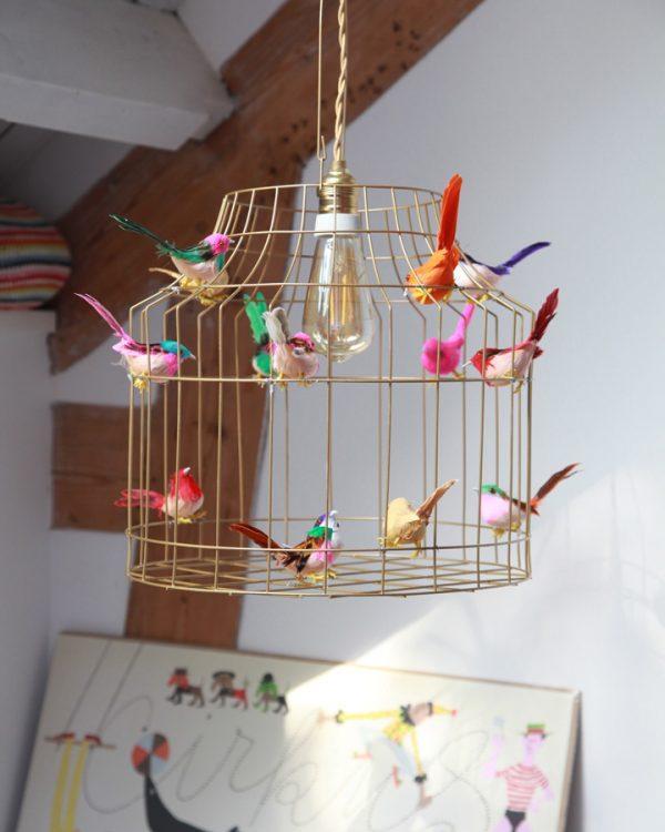 Kinderzimmer gold Deckenlampe goldfarbig