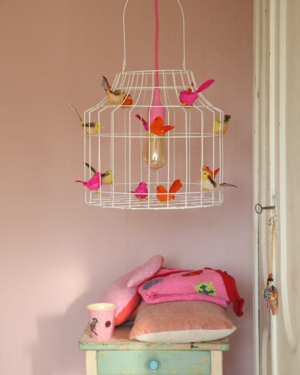 Pendelleuchte Kinderzimmer neon Mädchenzimmer